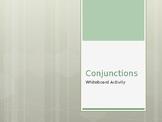 Conjunction Sentences: Whiteboard Activity