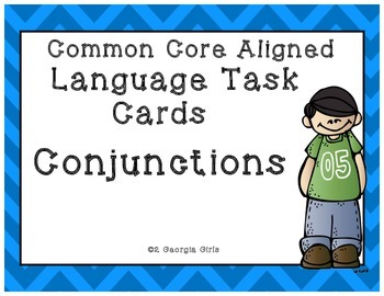 photo regarding Printable Task Cards named Conjunction Process Playing cards Totally free Printable