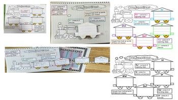 Conjunction Train, Coordinating Conjunctions, Basic Conjunctions.