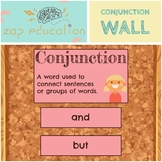 Conjunction Wall | Parts of Speech Posters | Grammar Poste
