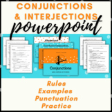 Conjunction and Interjection Presentation and Fill-in-the-