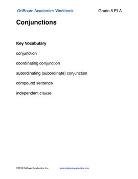 Conjunctions 2