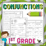First Grade Conjunctions