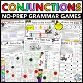 Conjunctions Games {Coordinating Conjunctions, Subordinating Conjunctions...}