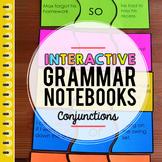 Conjunctions Interactive Grammar Notebook