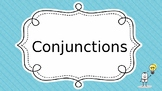 Conjunctions - Best for ESL students!