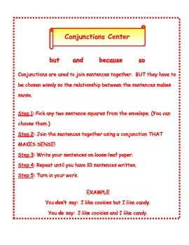 Conjunctions Center