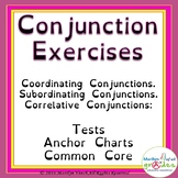 Conjunctions - Worksheets - Anchor Charts - Year 5 - Common Core