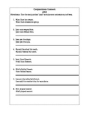 Conjunctions Connect Worksheet