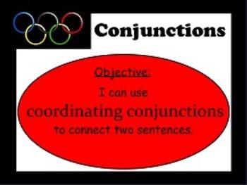Conjunctions Coordinating & Subordinating L.1.h FLIPCHARTS!!