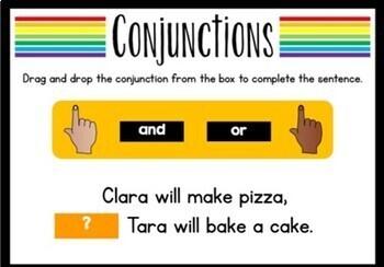 Conjunctions (Digital Task Cards)