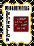 Conjunctions FANBOYS Anchor Chart