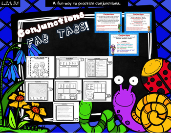 Conjunctions Fab Tabs