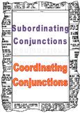Conjunctions Flip book