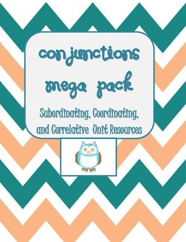 Conjunctions Mega Pack- Help w/Compound & Complex Sentences