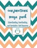 Conjunctions Mega Pack- Help w/Compound & Complex Sentences