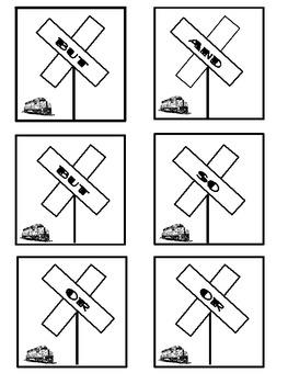 Conjunctions Memory Game