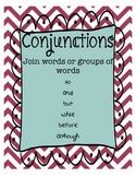 Conjunctions Packet