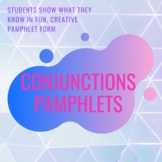 Conjunctions Pamphlet Project Instructions