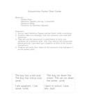 Conjunctions Pocket Chart Center