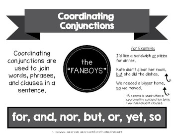 Conjunctions Posters