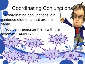 Conjunctions Powerpoint