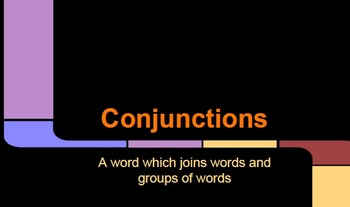 Conjunctions Presentation