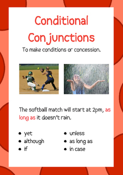 Conjunctions:  Primary K-6