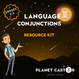 Conjunctions Kit | Develop Syntactic Choices | Grades 2-5
