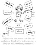Conjunctions, Sentence Writing