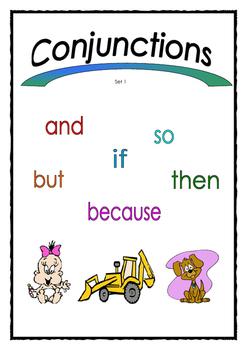 Conjunctions Set 1