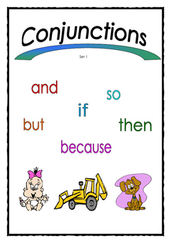 Conjunctions Set 1