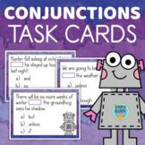 Conjunctions Task Cards Grade 3