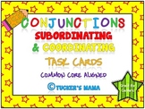 Conjunctions Task Cards