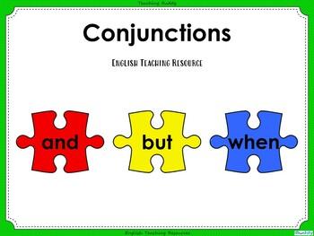 Conjunctions Teaching PowerPoint