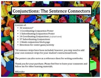 Conjunctions: The Sentence Connectors