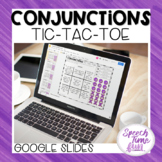 Conjunctions Tic Tac Toe Google Slides