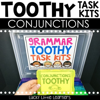 Conjunctions Toothy™ Task Kits