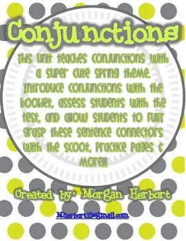 Conjunctions Unit