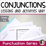 Conjunctions Unit - Parts of Speech Unit