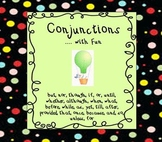 Conjunctions Words List: Learn Grammar with Fun - Common Core ELA Standard