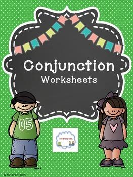 Conjunctions Worksheets