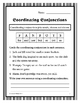 Conjunctions: Worksheets and Posters