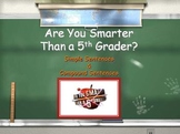 Conjunctions and Compound Sentences : Are You Smarter Than a Fifth Grader?
