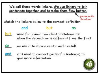 Conjunctions and More! (therefore, however, besides, even though, what's more..)
