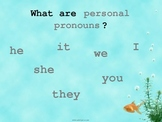 Conjunctions and Personal Pronouns