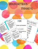 Conjunctions using fanboys! Small group!