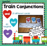 Valentine's Day and Train Conjunctions/Compound Sentences: Speech Therapy