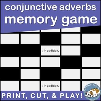Conjunctive Adverb Memory Game