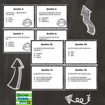 Do you know France? French Task Cards (Cultural Activities)